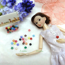 Bjd Dollfie Clothes Doll Dress Sewing Tiny Star Button 6.5mm Mix Color (22pcs)