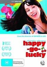 Happy-Go-Lucky (DVD, 2009)-FREE POSTAGE NEW