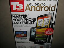 NEW T3 Guide to ANDROID $25 Master Phone Tablet 148 pages of Tips Tricks Buyer's