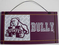 New Mississippi State State University College Licensed Wooden Sign Sport Fan