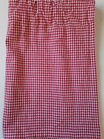 """Pottery Barn Kids Red Gingham Valance - 46' x 17"""""""