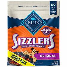 New listing Blue Buffalo Sizzlers Pork Dog Treat, 32 oz