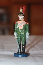 "Vintage Old World Lead Soldier W/ Sword Scabard 90mm High 3 1/2"" X 1"""