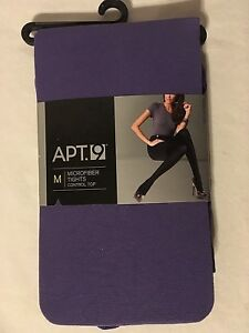 NEW APT 9 WOMEN'S SIZE S OR M MICROFIBER CONTROL TOP TIGHTS PICK COLOR FREE SHIP