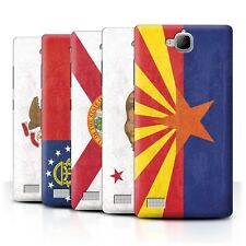 STUFF4 Back Case/Cover/Skin for Huawei Honor 3C/Vintage USA State Flag