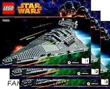 LEGO- Instruction/Notice for Set 75055 Imperial Star Destroyer   NEUF
