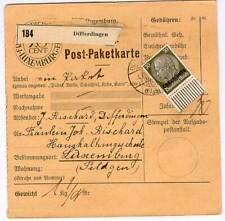 Dt Besetzung 2. Weltkrieg Luxemburg Mi 11 EF Paketkarte