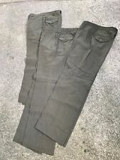 USMC US Marine Corps Forest green gabardine Wool Service dress Trousers lot