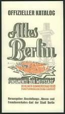 Catálogo de Berlín verano mira 1930 funkturmhallen antiguo Berlín exposición RP