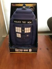 "NIB Doctor Who Tardis Talking 15"" SOFT TOY Plush With Light & Sounds BBC NEW"