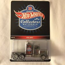 2016 Hot Wheels 16th Nationals Convention Long Gone Semi Truck #4 Indy Finale
