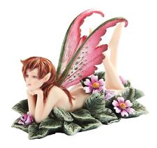 Amy Brown Primrose Faerie Winged Fairy Statue Enchanted Figurine. Licensed Art