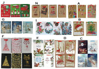 12x Christmas XMAS Small Gift Bags Treat Lolly Candy Party Favour Loot Party Bag