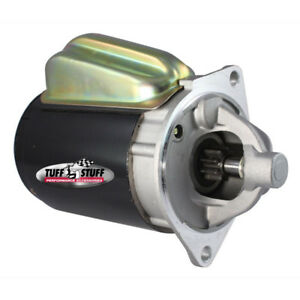 Tuff Stuff Starter Motor 3124B; 1.9 hp Black OE-Style for 63-91 289/302/351W SBF