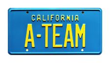 The A-Team GMC Van | Hannibal Face Murdock Mr T | A-TEAM | STAMPED License Plate