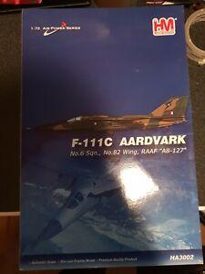 HobbyMaster 1:72 RAAF F-111C Aardvark HA3002 'Rare/VHTF'