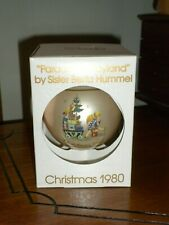 "1980 Schmid Sr. Berta Hummel ""Parade into Toyland"" 7th Ltd.Ed.Glass Ornament"