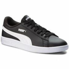 Zapatos de Hombre Mujer PUMA Smash V2L 365215 04 Negro Sneakers Deportivo Piel