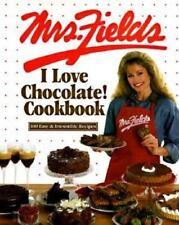 The Mrs. Fields I Love Chocolate Cookbook by Debbi Fields (1999, Hardcover)