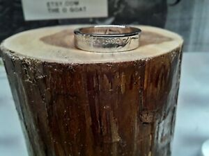 "Custom Made Coin Ring U.S. Dated Nickel "" 1990 "" Size 6 1/2"
