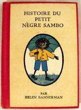 Histoire du Petit Negre Sambo 1921 HC Book