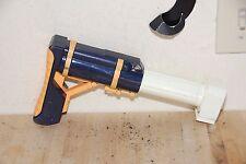 NERF Super Soaker White Shoulder Attachment Stock Recon, Raider, Alpha Trooper