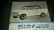 Opel Kadett A photographic postcard Good condition for age .