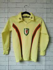 WALES 1976 - 1979 AWAY ORIGINAL ADMIRAL VINTAGE L/S FOOTBALL SHIRT - YOUTHS
