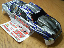 NEW Traxxas 4907 3.3 T-Maxx White Silver Blue Painted Body w/ Decal 49077-3