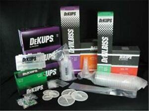 DeVilbiss DeKups Disposable Cup System Shop Starter Kit DPC650