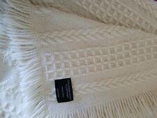 John Branigan Weavers Wool Alpaca blanket throw made in Ireland $285