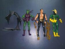 Marvel Legends Toybiz Lot - Green Goblin, Namor and Electro