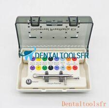 Tournevis d'implant dentaire Kit + clé dynamométrique + Mini tournevis 18 pièces