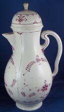 Antique Fun 18thC Schrezheim / Zurich Porcelain Coffee Pot Porzellan Kanne