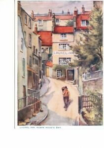 ART postcard:  LAUREL INN ROBIN HOOD'S BAY by HAROLD TODD
