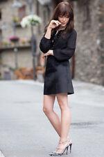 Zara Nero CAVALLINO pelo PARTY Minigonna Taglia S BLOGGER! REF 2753 237