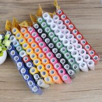 Threads For Sewing Machine Stitching Clothes Materials Spool Yarn Dyed 10pcs/set
