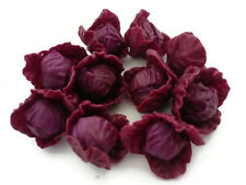 10 Loose Purple Cabbage Vegetables Dollhouse Miniatures  Kitchen Grocers