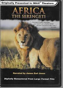 Sling Shot, AFRICA THE SERENGETI, Short Film Documentary 1994, USED DVD