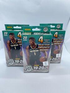 2019-2020 Panini Mosaic NBA Basketball Lot Of 3 Hanger Boxes  Zion?  Ja?  🏀 🔥