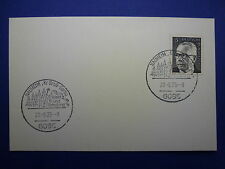 LOT 12535 TIMBRES STAMP ENVELOPPE MUSIQUE ALLEMAGNE ANNEE 1975
