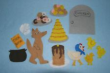 """""""The Wolfe Chicken Stew"""" Children Story Flannel board/ felt set"""