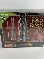 The Lord of the Rings The Two Towers - Orthanc Puzz 3D Wrebbit 350 - Sealed!
