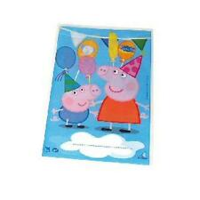 Peppa Pig Blue Party Loot Bags - 10 Pack - Matching Items in My Shop