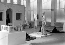 Photo-negativo-Berlín - 1936-exposición-Alemania el torre radial-mode pieles - 39