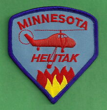 MINNESOTA STATE FORESTRY FIRE HELITACK PATCH