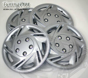 """4pcs Wheel Cover Rim Skin Covers 14"""" Inch Style #B602 Hubcaps with Improved Tab"""