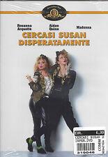 Dvd **CERCASI SUSAN DISPERATAMENTE** con Madonna nuovo sigillato 1985