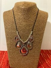"""CHRISTOPHER & BANKS 19""""  MIXED METAL NECKLACE  NWT"""