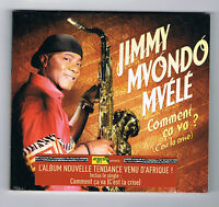 JIMMY MVONDO MVÉLÉ - COMMENT ÇA VA ? - CD 13 TITRES - 2014 - NEUF NEW NEU